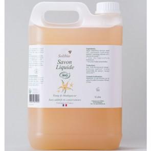 """Savon liquide de Solignac """"Ylang-ylang"""" 5l (Solibio)"""