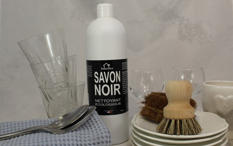 Savon Noir Bio 3abeilles, Nettoyant écologique pour maison