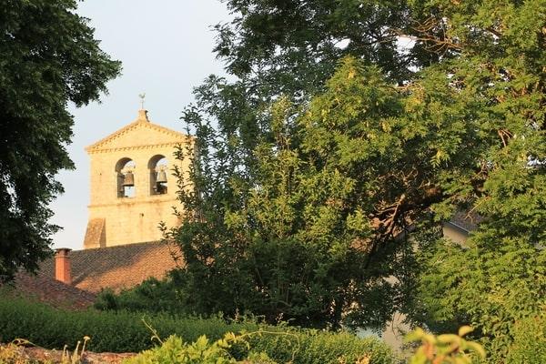 Solignac, village classé dans la vallée de la Briance