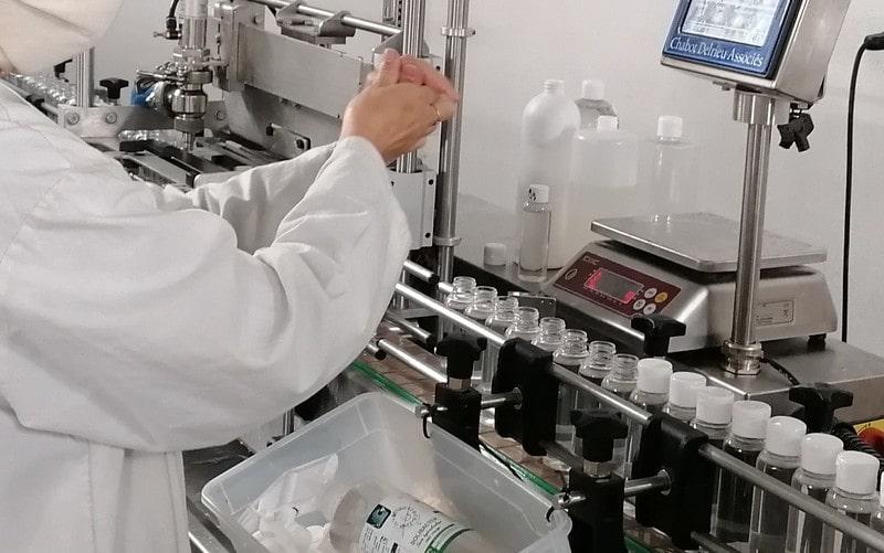 Solibacter savon en Solution hydroalcoolique Biocide TP1